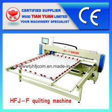 Único coletor de agulha cabeça única informatizado quilting máquina