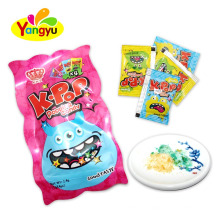 Mixed Fruits Flavors Rock Candy Magic Popping Candy