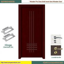 Panel de puerta de madera de ventas Puerta de madera de puerta de madera rústica