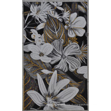 Carrelage en mosaïque de fleurs pour plancher ou mur