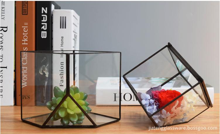 Vases Glass Flower5