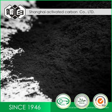Densidad de recuperación de solvente Carbón activado comercial basado en carbón