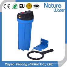 Blauer Wasserfilter