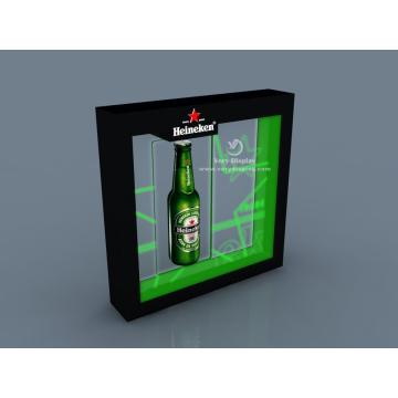 Heineken magnet floating display