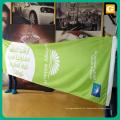 Bandeira da tela do poliéster da impressão da sublimação do formato grande para anunciar