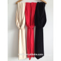 Fashion new ladies couleur unie longue écharpe / châle