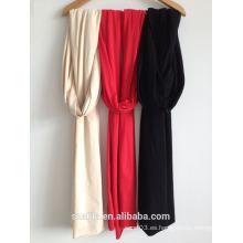 Nueva bufanda / mantón largos del color sólido de las señoras de la manera