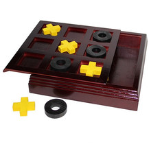 Tic Toc Toe Wooden Board Game