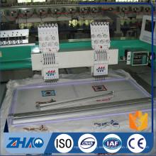 2 cabezas máquina de bordado computarizado de bordado hecho en China venta caliente