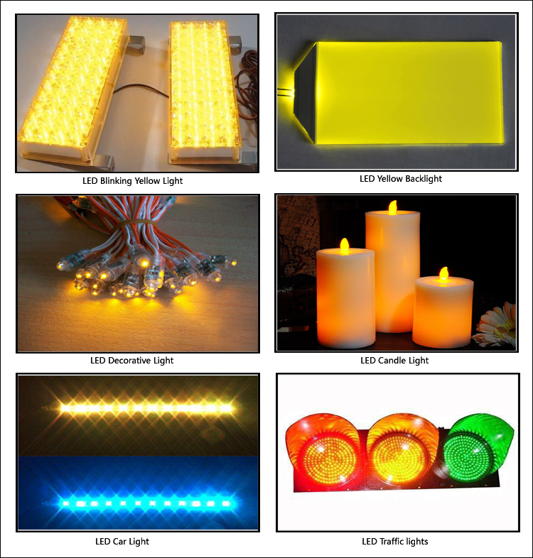 yellow led application