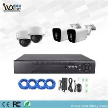 4CH 4K 8MP CCTV Keamanan POE NVR Kit