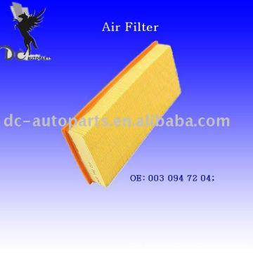 Основная панель воздушный фильтр 003 094 72 04
