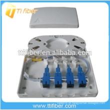 Caixa de Terminais de Fibra Óptica 4Port FTB-104B