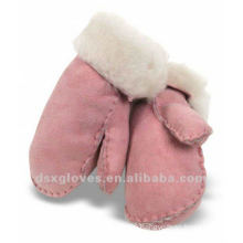 Shearling Turn Cuff Sheepskin Mittens