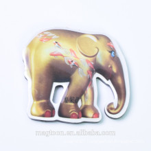 customized elephant shape epoxy magnet ,souvenir fridge magnet