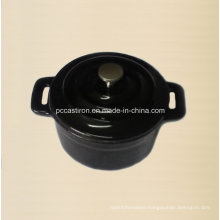 Enamel Cast Iron Mini Pot Size 10cm