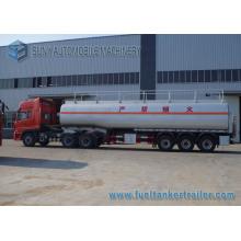 56000 Litres Fuel Tank Truck Semi Trailer