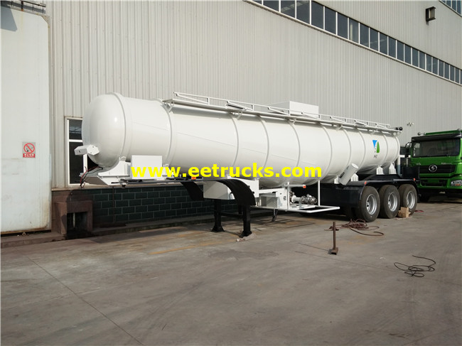 98% Sulfuric Acid Transport Semi-Trailers