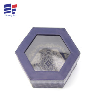 10 Years for China Electronics Set Top Paper Box, Electronics Set Bottom Paper Box, Electronics Two Pieces Paper Box Manufacturer Hexagon paper window gift box export to Poland Importers