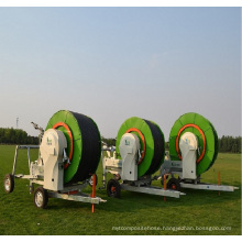 Metal hose reel irrigation system for sale