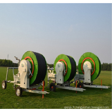 Chariots d'irrigation à gros pistolets / système d'irrigation à enrouleur de tuyau