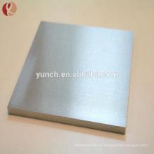 Astm b708 2mm pureté plaque de tantale