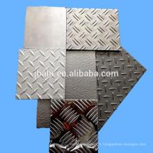 Fournisseur de l'assurance du commerce de nouveau produit a enduit la feuille en aluminium embossée par couleur