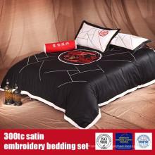 100%Cotton 300TC Sateen EMB Luxury Hotel Linens