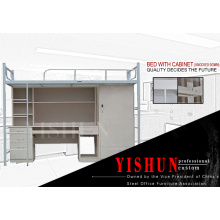 Factory prices double deck used cheap bunk beds/ metal bunk bed sales/dormitory beds for hostels