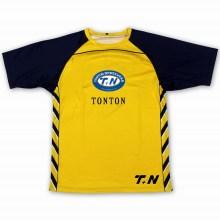 Kundenspezifisches Siebdruck-Baumwollt-shirt