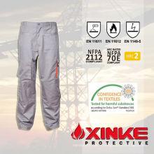 Pantalon de travail résistant au feu CVC pour l'industrie