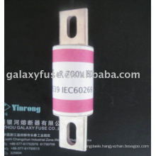 circular pipe bolt connection type semiconductor device protection used fast fuse