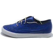 2017 Men Leather PU Lace Fashion Canvas Casual Sport Shoes
