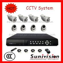 China Supplier! ! ! New Design 8CH Waterproof Outdoor/Indoor CCTV System
