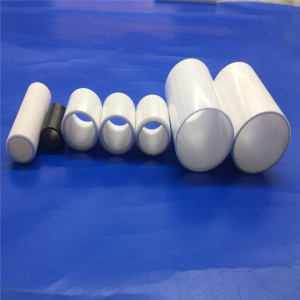 Refractory Insulation Alumina Zirconia Ceramic Tube