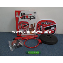 Standing Metal Basketball Board with Basketball, Hand Pumps, Screwdriver (837701)