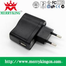 5W Serie AC / DC Adapter mit EU Stecker, USB Ladegerät