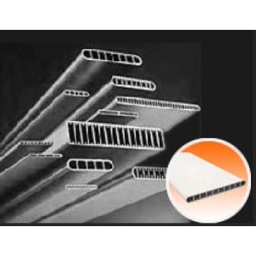 Micro-Channel Aluminium-Flachrohr für Klimaanlage Wärmetauscher / Kondensator