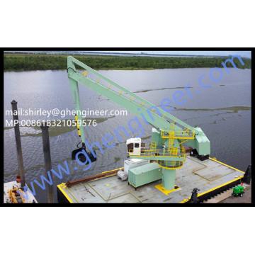 CCS ABS BV Grúa de manejo de graneles hidráulico flotante 35T 40T