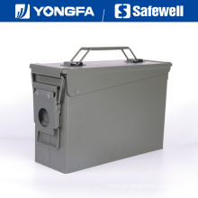. 30 Cal Metal Bullet Box Munition kann für Gun Safe
