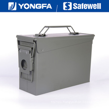. 30 Cal Metal Bullet Box Ammo Can for Gun Safe