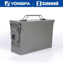 . Munição de caixa de bala de metal de cal de 30 pode para seguro de arma