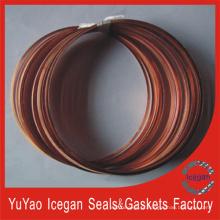 Juntas de cobre Junta de cabeça do cilindro Peças de automóvel (IG-040)
