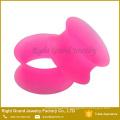 Thin Silicone Flexible Flesh Tunnel Expander Ear Plug Gauge Earlets