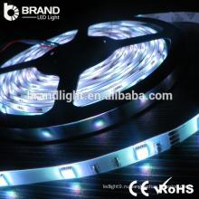 14.4W / M 12 вольт Холодный белый 6000K 5050 SMD Светодиодные полосы света