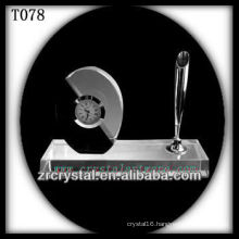 Wonderful K9 Crystal Clock T078