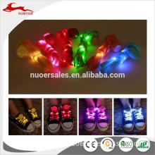 Hot Selling LED Flashing Shoelaces, LED Light Up Shoelaces, LED Shoe Laces Customs Data