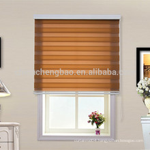 Home decor zebra wide fabric aluminum tube spring roller blind
