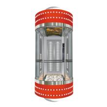 Gearless Panorama Aufzug für Innen und Außen