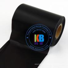 Cinta de transferencia térmica de resina de impresión de etiquetas de código de barras de vinilo PET 110 * 300